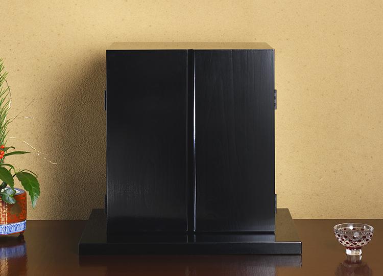 厨子仏壇「禅(ぜん)」黒 特徴