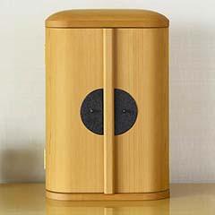 厨子仏壇 日輪 杉柾白木