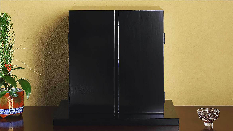 厨子仏壇「禅(ぜん)」黒