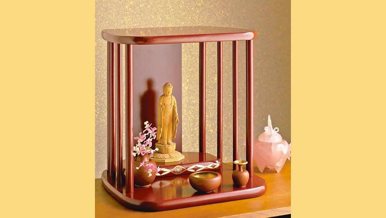 祈り壇「光り(ひかり)」古代朱