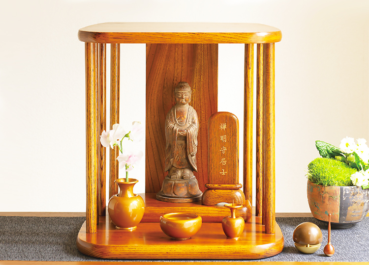 祈り壇「光り(ひかり)」茶拭き 特徴