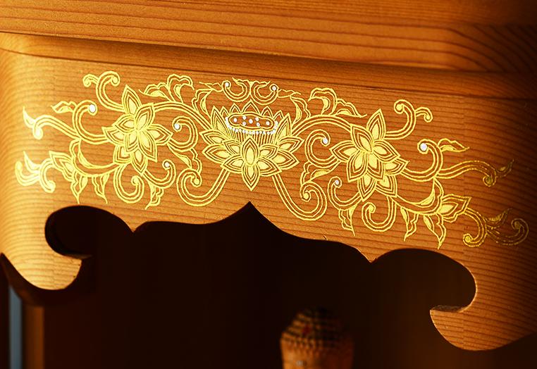 お仏壇を飾る 金工