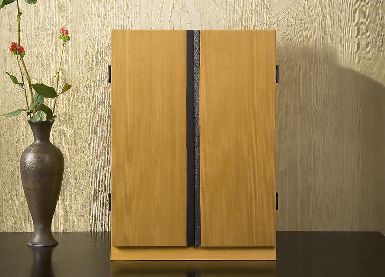 厨子仏壇「月輪(げつりん)」シリーズ 白木