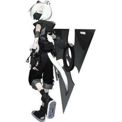 シラユキの昇進前画像