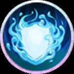碧水麒麟の庇護スキルアイコン