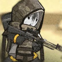 迷彩射撃兵