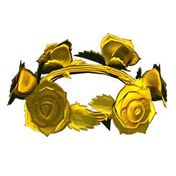 バラのかんむり・ゴールド