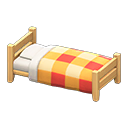 もくせいシングルベッド