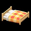 もくせいダブルベッド