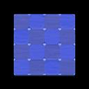 ブルーのキュートなフロアタイル