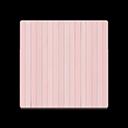 ピンクのペイントフローリング