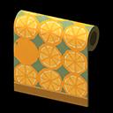 オレンジのかべがみ