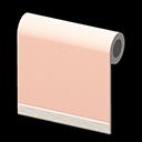 ピンクのシンプルクロス