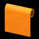 オレンジのペイントウォール