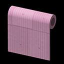 ピンクのトタンかべ