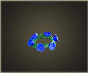 バラのかんむり・ブルー