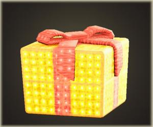 プレゼントのイルミネーション