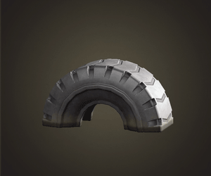 Tire toy