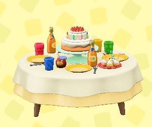 バースデーテーブル