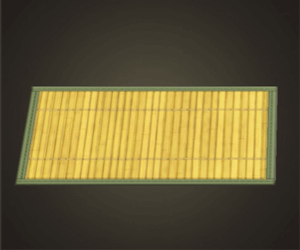Light Bamboo Rug
