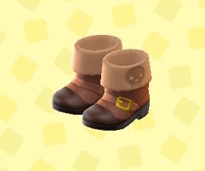 かいぞくのブーツ