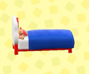 ハローキティなベッド