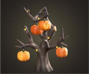 ハロウィンなツリー