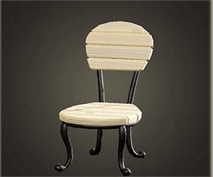 広場に椅子 あつ森