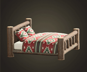 まるたのベッド