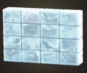 Ice partition