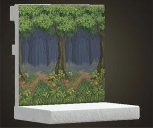 Mushroom Forest Wall