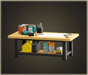 アイアンウッドDIYテーブル