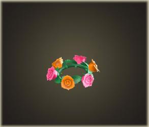 バラのかんむり・キュート