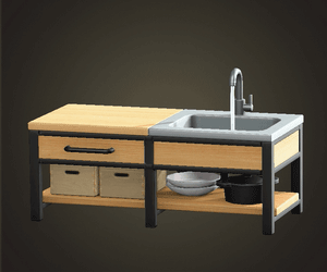 ACNH | Cafe Design Ideas - Outdoor Cafe Guide | Animal ... on Animal Crossing Ironwood Kitchen  id=84322
