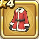 サンタのふく上アイコン