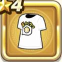 高かくりつTシャツ・白