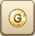 ゴールドの珠