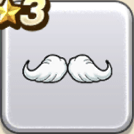 立派な白ヒゲ