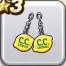 C.C.レモンの耳飾り