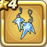 魔氷のイヤリング