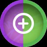こころ枠紫・緑