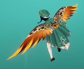 金琮天行の翼