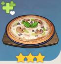 キノコピザ