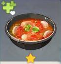 大根入りの野菜スープ