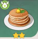 午後のパンケーキ