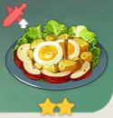 満足サラダ