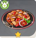 豚肉の唐辛子炒め