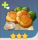 ツメ型ハッシュドポテト