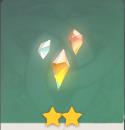 輝くダイヤ砕屑