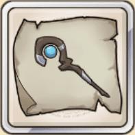 水杖の巻物のアイコン